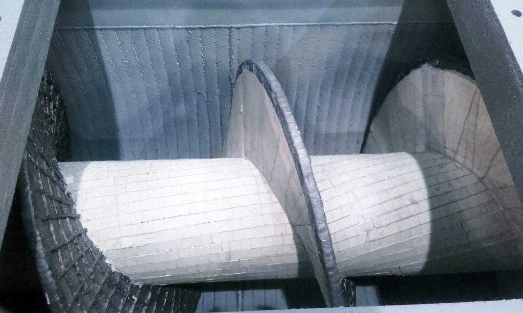 Przenośniki ślimakowe wymagają solidnej ochrony przed zużyciem.